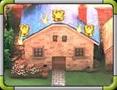 GameImage:家を襲うモンスター